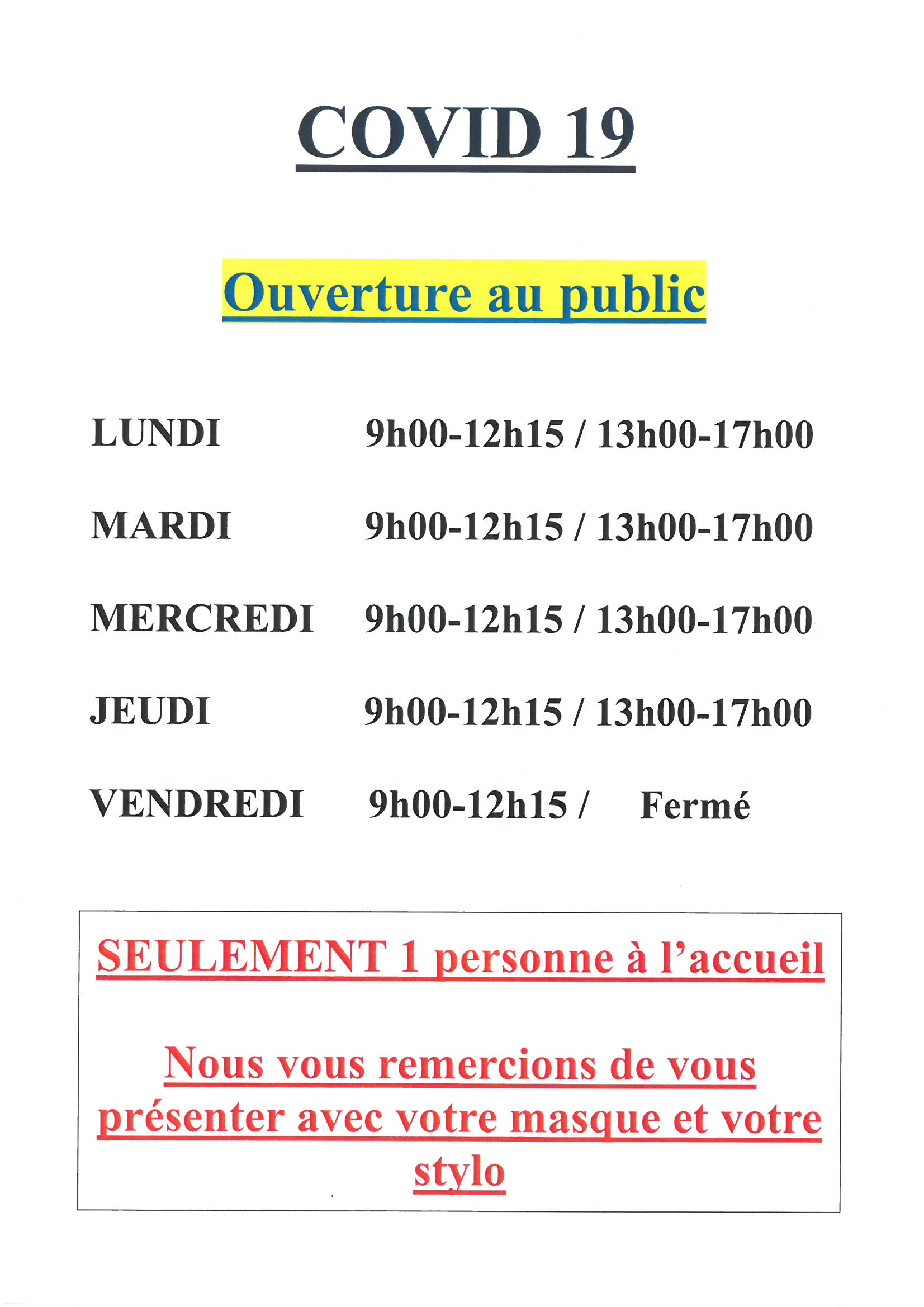 ouverture mairie 052021